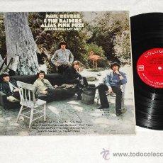 Discos de vinilo: LP PAUL REVERE AND THE RAIDERS ALIAS PINK PUZZ PSICO-GARAGE 1969 ORIGINAL USA DISCO PORTADA VG++. Lote 28278464