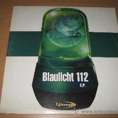 Disques de vinyle: BLAULICHT 112 EP . 12. Lote 28283047