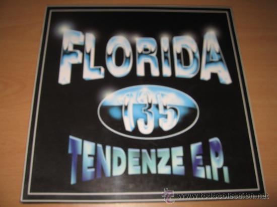 FLORIDA 135 TENDENZE EP - GARRUCHO & LORES 12 AÑO 1996 (Música - Discos de Vinilo - EPs - Techno, Trance y House)