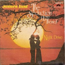 Discos de vinilo: JAMES LAST -SINGLE THE SEDUCTION. Lote 28291604