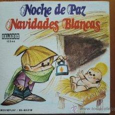 Disques de vinyle: SINGLE VILLANCICOS INFANTILES CÍRCULO DE LECTORES (1973): NOCHE DE PAZ / NAVIDADES BLANCAS. Lote 28296787