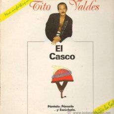 Discos de vinilo: TITO VALDES - EL CASCO / EL GATO QUE ESTÁ TRISTE Y AZUL - MAXISINGLE 1990. Lote 28301495