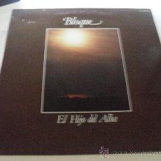Discos de vinilo: BLOQUE - EL HIJO DEL ALBA 1980. Lote 28301731