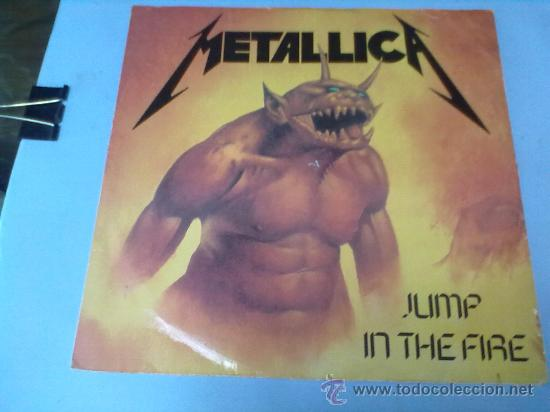 Discos de vinilo: LP METALLICA JUMP IN THE FIRE. LP HEAVY METAL ORIGINAL. 1983 - Foto 1 - 28305588