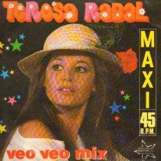 Discos de vinilo: TERESA RABAL - VEO VEO MIX (2 VERSIONES) - MAXISINGLE 1987. Lote 28310122
