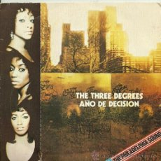 Discos de vinilo: THE THREE DEGREES SINGLE SELLO PHILADELPHIA AÑO 1974. Lote 28311514
