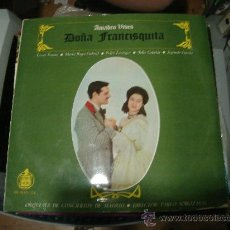 Discos de vinilo: LP DE DOÑA FRANCISQUITA. AMADEO VIBES. ORQUESTA DE CONCIERTOS DE MADRID. DOS DISCOS.. Lote 28346972