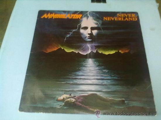 ANNHILATOR (HEAVY-THRASH-BLACK-DEATH-METAL)NEVER NEVERLAND AÑO 1990 (Música - Discos - LP Vinilo - Heavy - Metal)