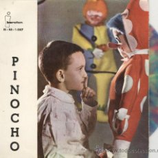 Discos de vinilo: CUENTO INFANTIL. PINOCHO. IBEROFON 1961. VINILO COLORINES. Lote 28327478