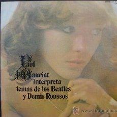 Discos de vinilo: PAUL MAURIAT INTERPRETA TEMAS DE LOS BEATLES Y DEMIS ROUSSOS. Lote 28332807