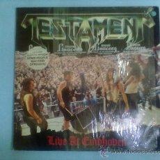 Discos de vinilo: LP TESTAMENT LIVE AT EINBHOVEN HEAVY METAL.. Lote 28336130