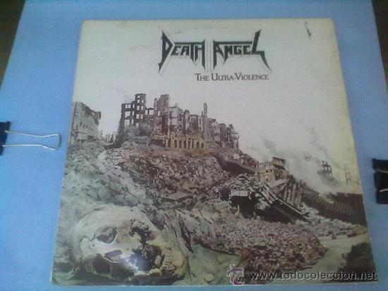 DEATH ANGEL THE ULTRA- VIOLENCIA LP VINILO... (Música - Discos - LP Vinilo - Heavy - Metal)