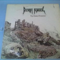 Discos de vinilo: DEATH ANGEL THE ULTRA- VIOLENCIA LP VINILO.... Lote 28343222