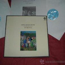 Discos de vinilo: GUILLAUME DUFAY Y SU EPOCA .KEES OTTENCAJA 2 LP MAS LIBRETO 1978 TELEFUNKEN. Lote 28344313