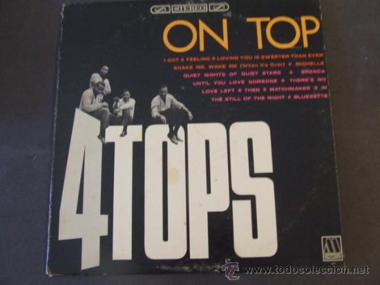 LP FOUR TOPS ON TOP 1965 ORIGINAL USA SOUL VG++ (Música - Discos - LP Vinilo - Pop - Rock Extranjero de los 50 y 60)
