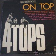 Discos de vinilo: LP FOUR TOPS ON TOP 1965 ORIGINAL USA SOUL VG++. Lote 28347430