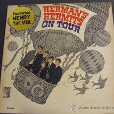 Discos de vinilo: LP HERMANS HERMITS ON TOUR 1966 ORIGINAL USA VG++. Lote 28347520