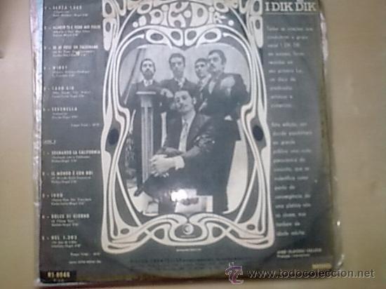 Discos de vinilo: LP I DIK DIK 1968 DISCO PSICODELICO EL DISCO MÁS BUSCADO ORIGINAL DISCO Y PORTADA VGVG+ - Foto 2 - 28349119