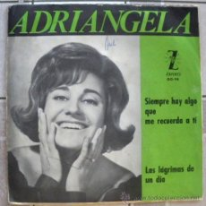 Discos de vinilo: ADRIANGELA 45 PS SPAIN 1965 - CHICA YE-YE ESPAÑOLA - VERSION SANDIE SHAW ZAFIRO OO-94 PROMO WL. Lote 28382087