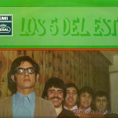 Discos de vinilo: LOS 5 DEL ESTE LP SELLO EMI-REGAL AÑO 1969. Lote 28358998