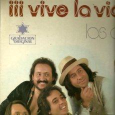 Discos de vinilo: LOS ALBAS LP SELLO IMPACTO AÑO 1978. Lote 28359300