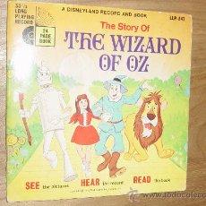 Discos de vinilo: DISCO CUENTO. THE STORY OF THE WIZARD OF OZ (MAGO DE OZ) EDICION INGLESA 1970. Lote 28366664