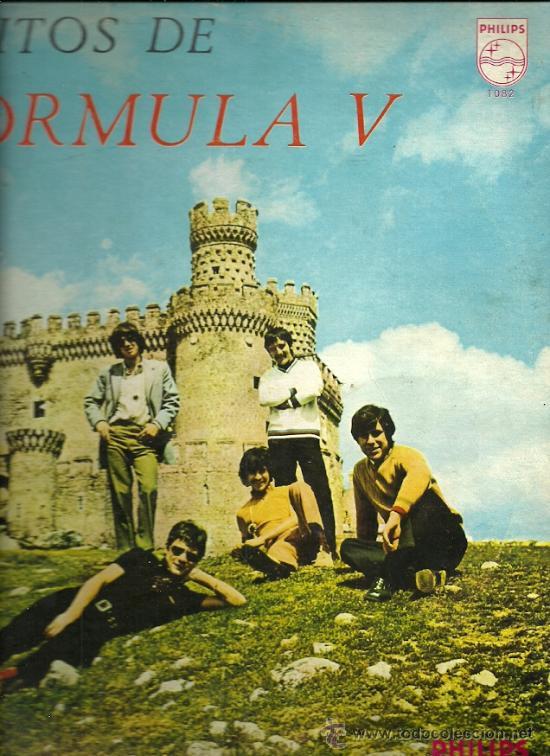 FORMULA V LP SELLO PHILIPS EDITADO EN VENEZUELA. (Música - Discos - LP Vinilo - Grupos Españoles 50 y 60)