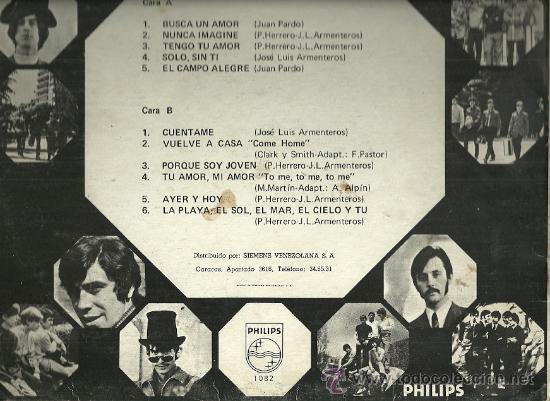 Discos de vinilo: FORMULA V LP SELLO PHILIPS EDITADO EN VENEZUELA. - Foto 2 - 28368599