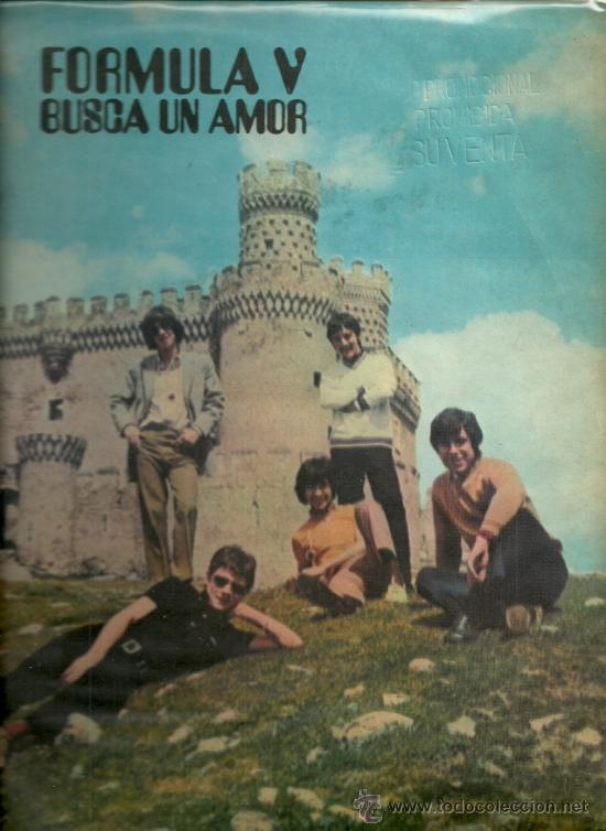 FORMULA V LP SELLO PHILIPS EDITADO EN CHILE. (Música - Discos - LP Vinilo - Grupos Españoles 50 y 60)