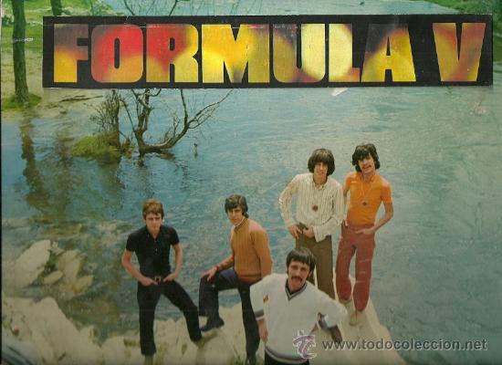 FORMULA V LP SELLO PHILIPS EDITADO EN ARGENTINA. (Música - Discos - LP Vinilo - Grupos Españoles 50 y 60)