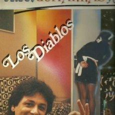 Discos de vinilo: LOS DIABLOS SUPER-SINGLE SELLO BELTER EDITADO EN ESPAÑA AÑO 1983. Lote 28368718