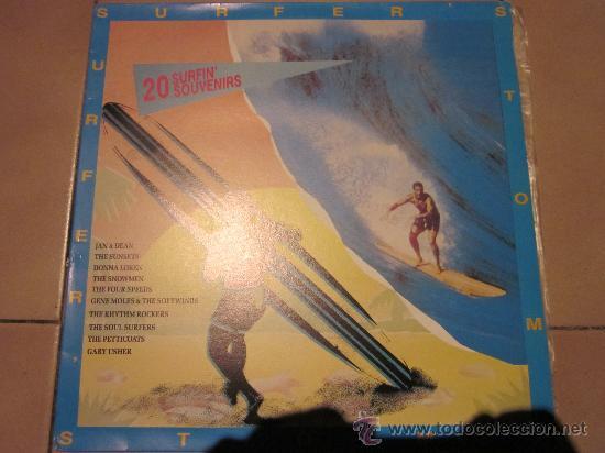 SURFER'S STOMP-20 SURFIN' SOUVENIRS-JAN & DEAN,FOUR SPEEDS,SUNSETS & MORE. (Música - Discos - LP Vinilo - Rock & Roll)