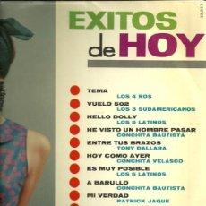 Discos de vinilo: EXITOS DE HOY LP SELLO BELTER AÑO 1966 LOS 4 ROS, LOS 3 SUDAMERICANOS, CONCHITA BAUTISTA.... Lote 28384448