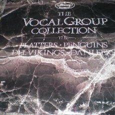 Discos de vinilo: THE VOCAL GROUP COLLECTION-DOBLE LP-PLATTERS,PENGUINS,DANLEERS,DEL VIKINGS.-DOO WOP.. Lote 28386699