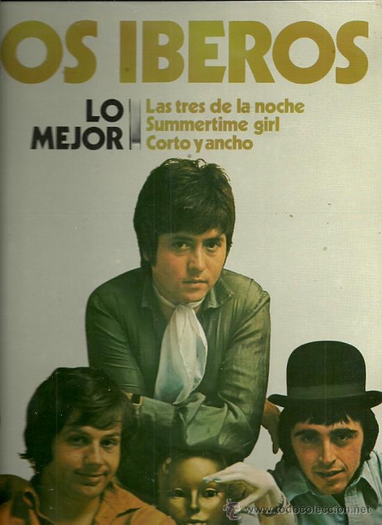 LOS IBEROS LP SELLO DISCOSA AÑO 1981 (Música - Discos - LP Vinilo - Grupos Españoles 50 y 60)