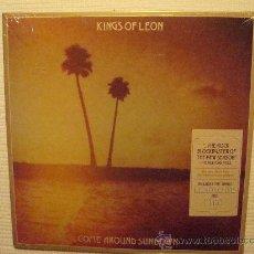 Discos de vinilo: KINGS OF LEON - '' COME AROUND SUNDOWN '' 2 LP USA SEALED. Lote 28390995