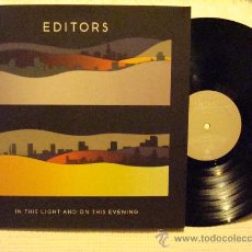 Discos de vinilo: EDITORS - '' IN THIS LIGHT AND ON THIS EVENING '' - LP GATEFOLD ORIGINAL. Lote 28391356