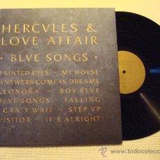 Discos de vinilo: HERCULES & LOVE AFFAIR - '' BLUE SONGS '' LP + INNER 2011 EU. Lote 28391922