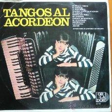 Discos de vinilo: LP ANTONIO BISIO: TANGOS AL ACORDEÓN (1.969) CÍRCULO DE LECTORES. ORLADOR.. Lote 28392183