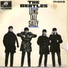 Discos de vinilo: THE BEATLES - EP-SINGLE VINILO 7'' - LONG TALL SALLY + 3 - EDITADO EN INGLATERRA - PARLOPHONE 1964. Lote 28403132