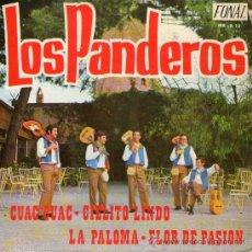 """Discos de vinilo: LOS PANDEROS - EP-SINGLE VINILO 7"""" - EDITADO EN ESPAÑA - CUAC CUAC + 3 - FONAL 1971. Lote 28403344"""