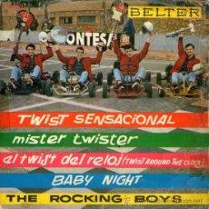 "Discos de vinilo: THE ROCKING BOYS - EP-SINGLE VINILO 7"" - EDITADO EN ESPAÑA - TWIST SENSACIONAL + 3 - BELTER 1962.. Lote 28403758"