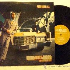 Discos de vinilo: ORAN JUICE JONES - '' PLAYER'S CALL '' 2 LP. Lote 28407021