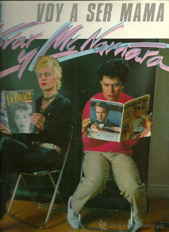 ALMODOVAR & MCNAMARA MAXI-SINGLE SELLO VICTORIA AÑO 1983 (Música - Discos de Vinilo - Maxi Singles - Grupos Españoles de los 70 y 80)