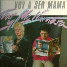 Discos de vinilo: ALMODOVAR & MCNAMARA MAXI-SINGLE SELLO VICTORIA AÑO 1983. Lote 28408660