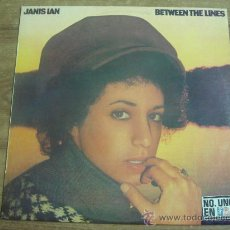 Discos de vinilo: JANIS IAN.-BETWEEN THE LINES.-CBS.-AÑO 1975.-. Lote 28411883