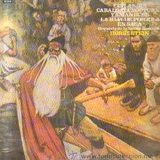 Discos de vinilo: SIBELIUS FINLANDIA / CABALGATA NOCTURNA Y AMANECER ORQUESTA DE LA SUISSE ROMANDE HORST STEIN . Lote 28416851