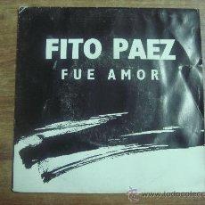 Discos de vinilo: FITO PAEZ.-FUE AMOR.-WARNER MUSIC.-AÑO 1991.-. Lote 28424261