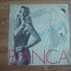 Discos de vinilo: MONIGOTE.-BIANCA.-SUPERDISCO REGGAE.-EMI-ODEON.-AÑO 1980.-. Lote 28424320