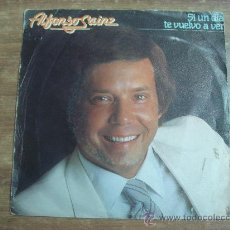 Discos de vinilo: ALFONSO SAINZ.-SI UN DIA TE VUELVO A VER.-FONOMUSIC.-AÑO 1984.-. Lote 28426498
